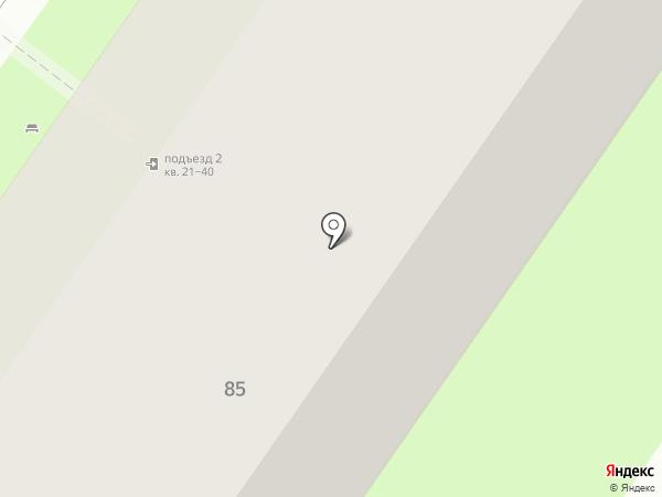 Криворучко Я.А. на карте Липецка