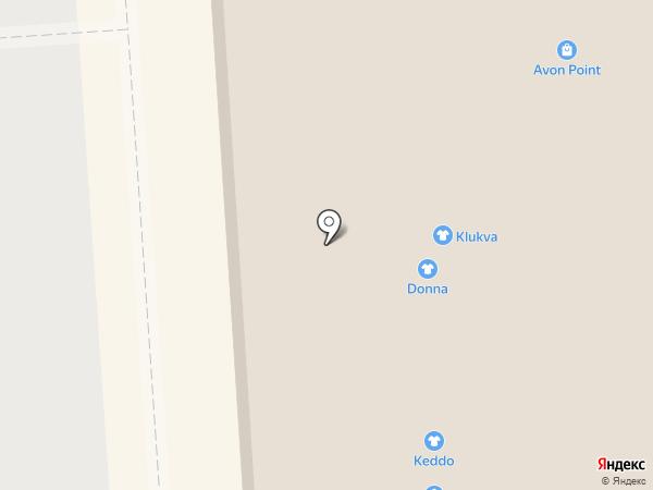Колба на карте Липецка