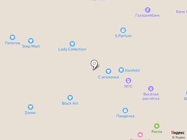 Black Star Shop на карте Липецка