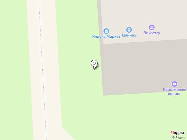 Гризли на карте Липецка