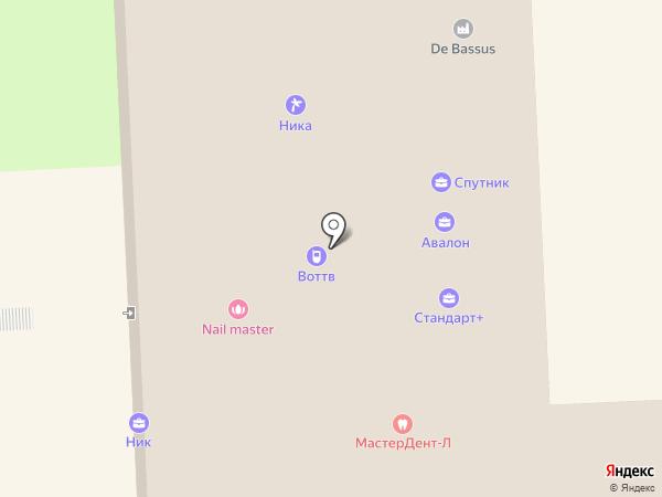 Гамма+ на карте Липецка