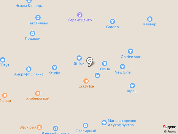 Perche на карте Липецка
