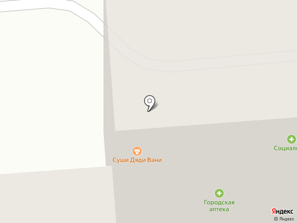 Магазин сладостей на карте Липецка