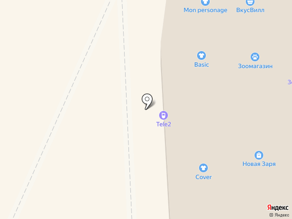 Жаклин Бутен на карте Липецка