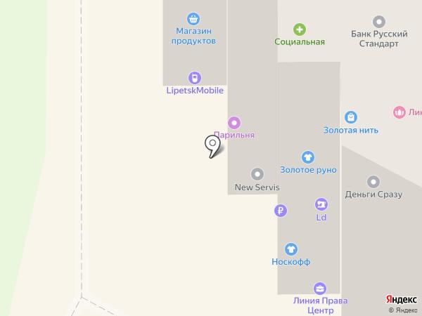 Qiwi на карте Липецка