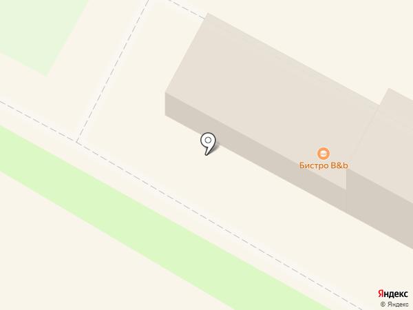 Пивбург на карте Липецка