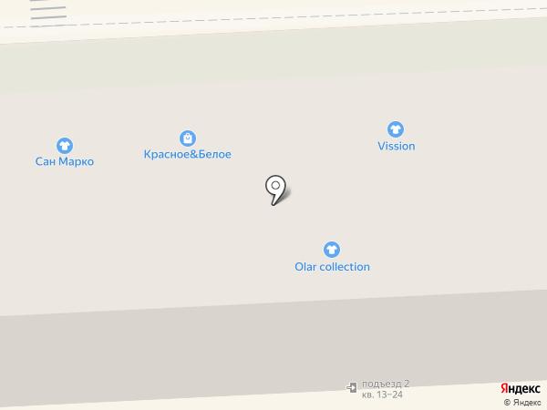 Glance на карте Липецка
