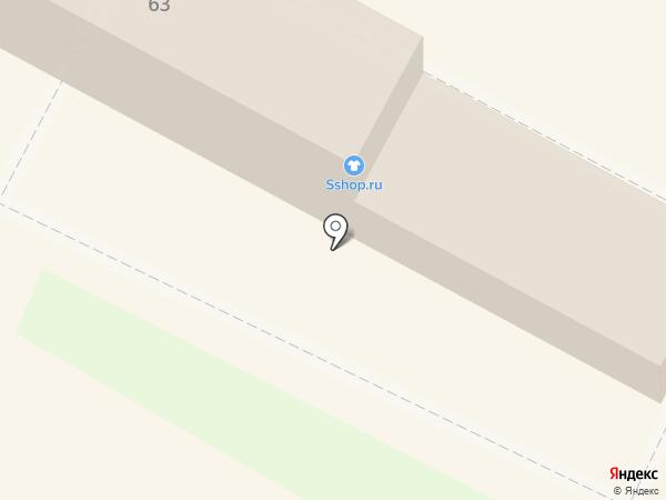 Ломбард Рубль Дам на карте Липецка