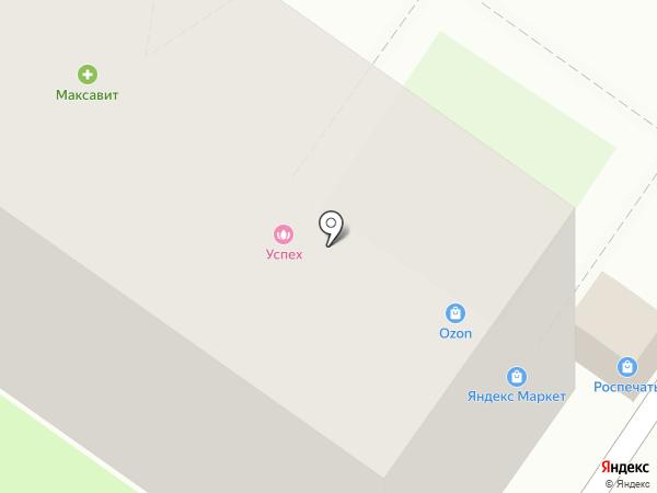 Успех на карте Липецка