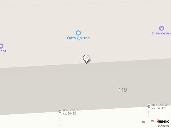 Комус на карте Липецка