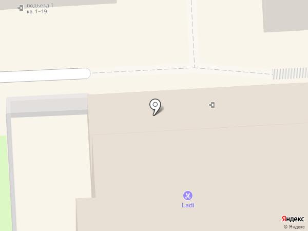Банка на карте Липецка