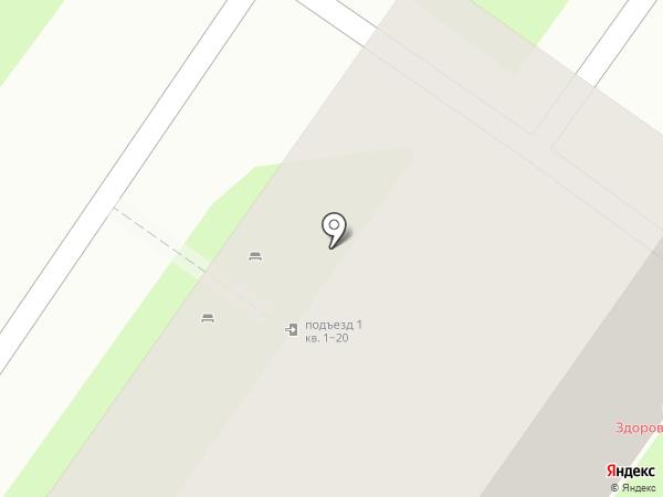 Вита на карте Липецка