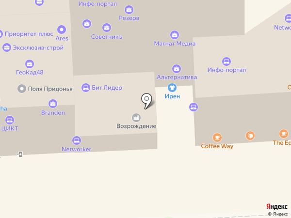 Школьный фасон на карте Липецка