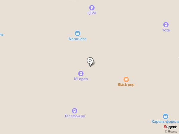 Магазин натуральных колбас на карте Липецка