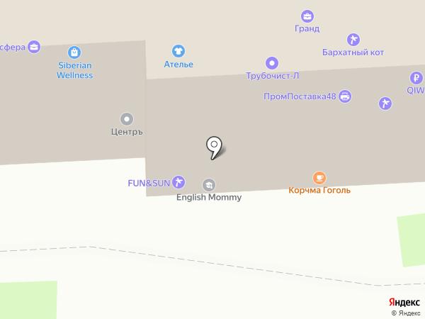 Зона Комфорта на карте Липецка