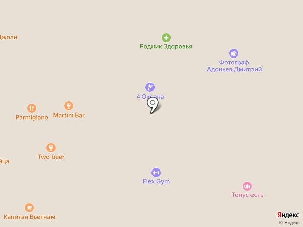 Гауди на карте Липецка