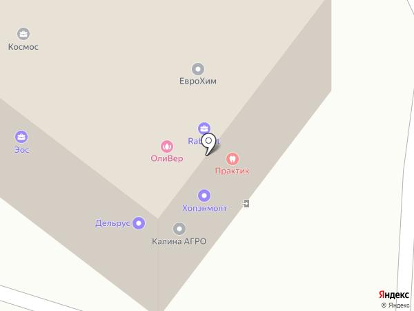 Дагс на карте Липецка