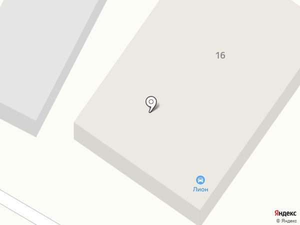 Lion на карте Липецка