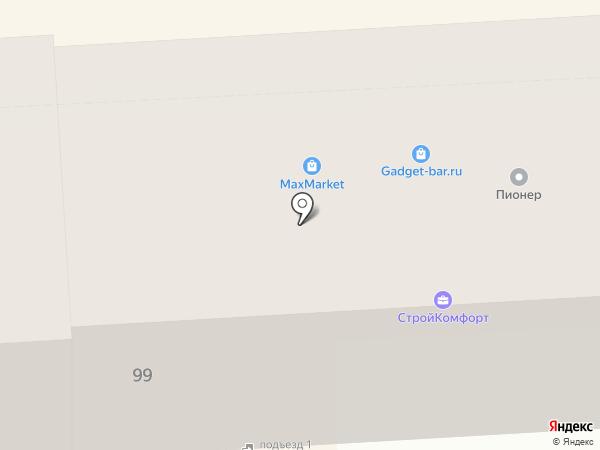 Superокна на карте Липецка