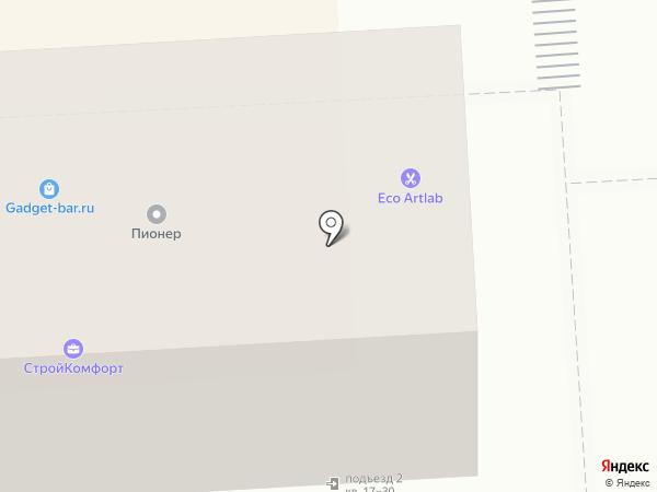 Первомайский на карте Липецка