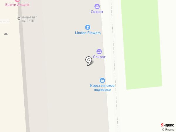 Милори на карте Липецка