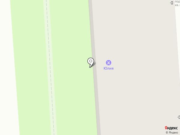 Нэили на карте Липецка