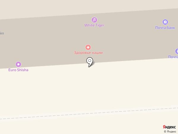 Банкомат, Почта банк, ПАО на карте Липецка