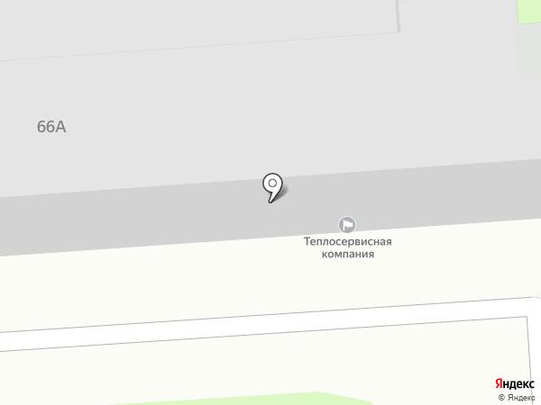 ЛИС С на карте Липецка