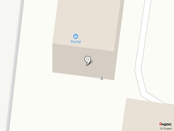 Аквадром на карте Липецка