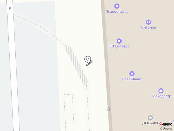 Техпоставка на карте Липецка