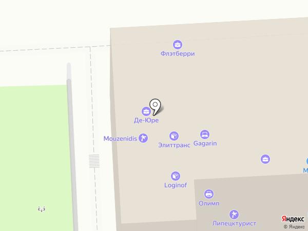 Модный образ на карте Липецка