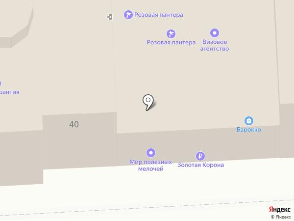 Розовая пантера на карте Липецка