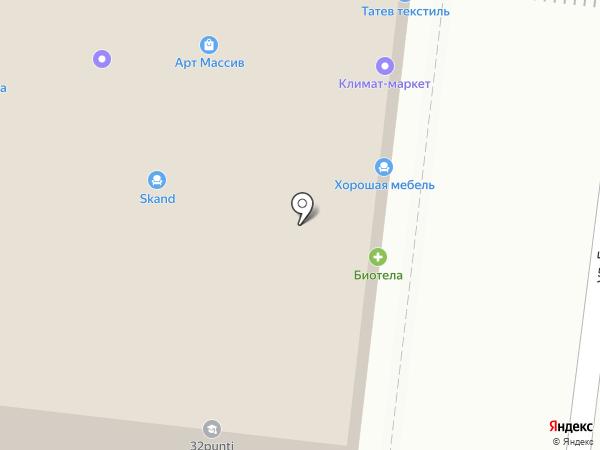 Мастерская мебели на карте Липецка