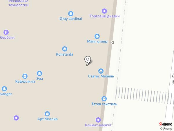 Ренессанс, ГК на карте Липецка