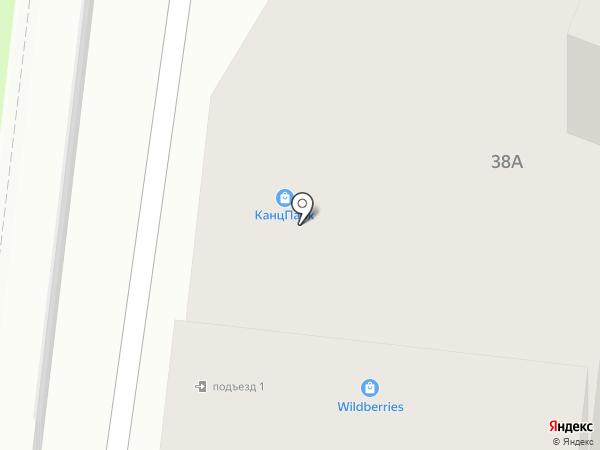 КанцПарк на карте Липецка