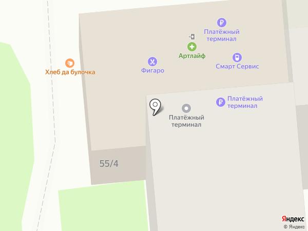 Домовёнок на карте Липецка