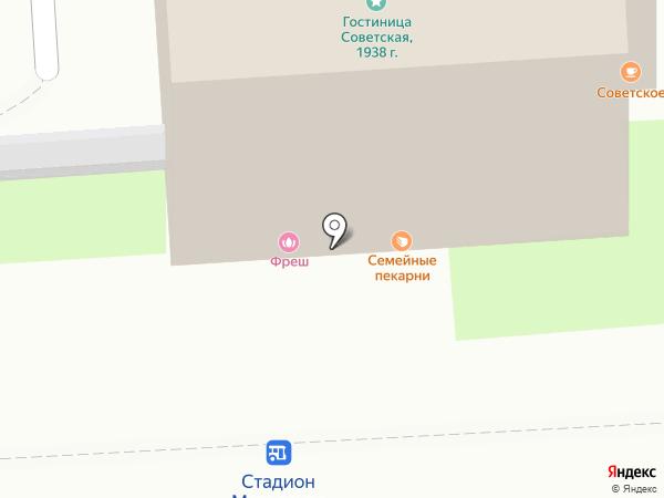 Подворье на карте Липецка