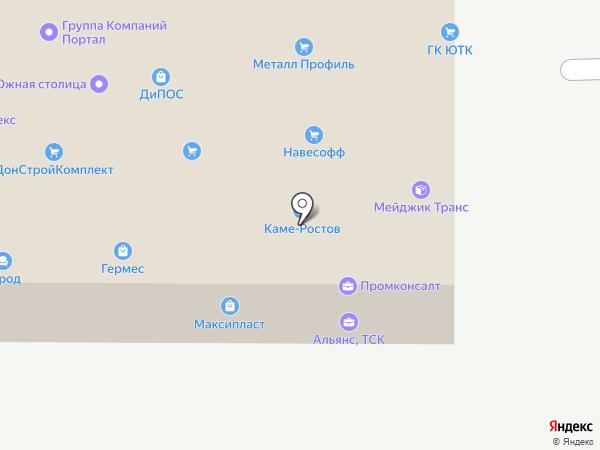 Энергоснаб-Юг на карте Ростова-на-Дону