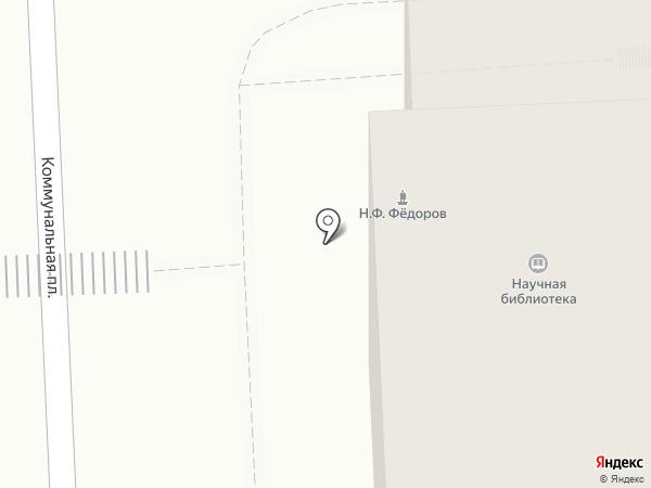 Липецкая областная универсальная научная библиотека на карте Липецка