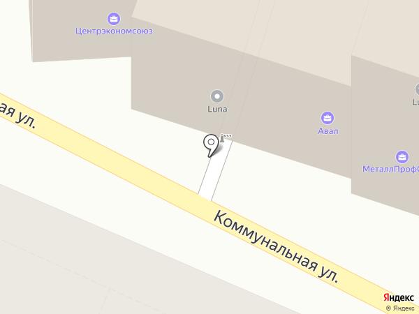 Фруктовый дворик на карте Липецка