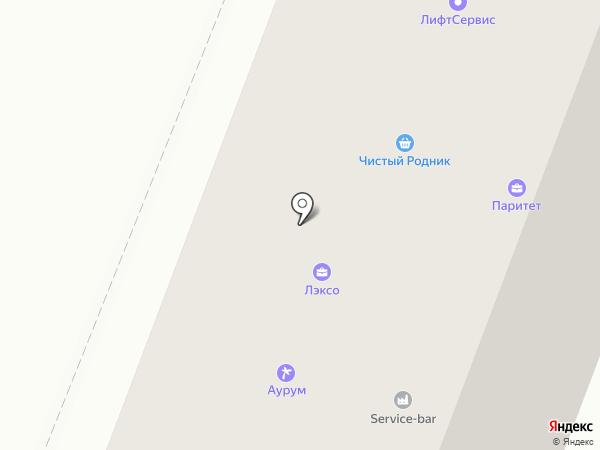 AURUM на карте Липецка
