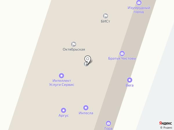 Маркет, ЗАО на карте Липецка