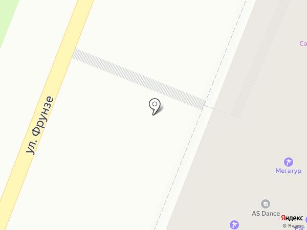 Бигуди на карте Липецка