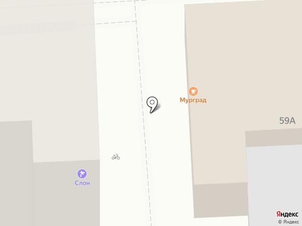 Magenta на карте Липецка