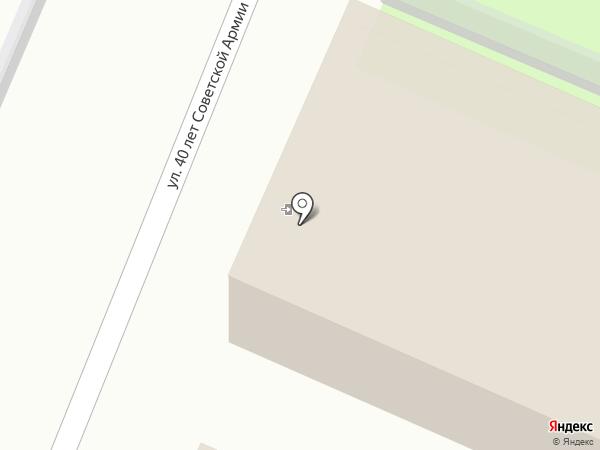 Церковная лавка на карте Липецка
