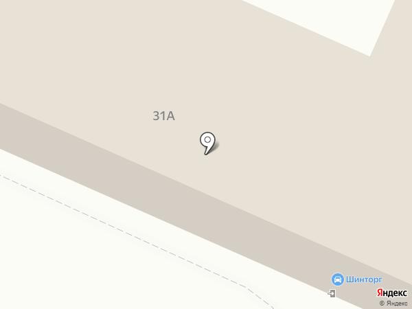 Шинторг-Петровский на карте Липецка