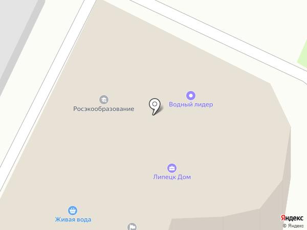 Бьютика на карте Липецка