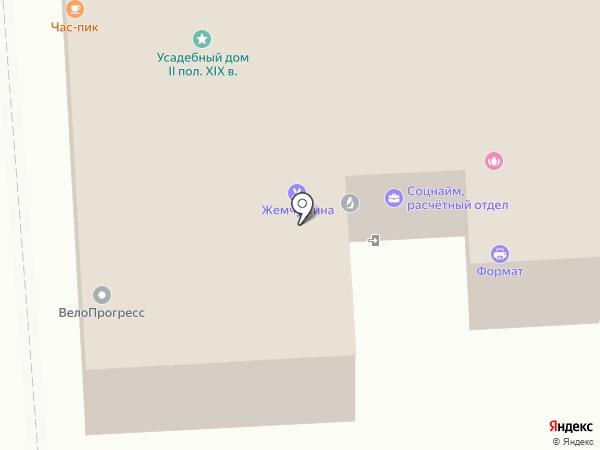 Северо-Западный информационный центр на карте Липецка