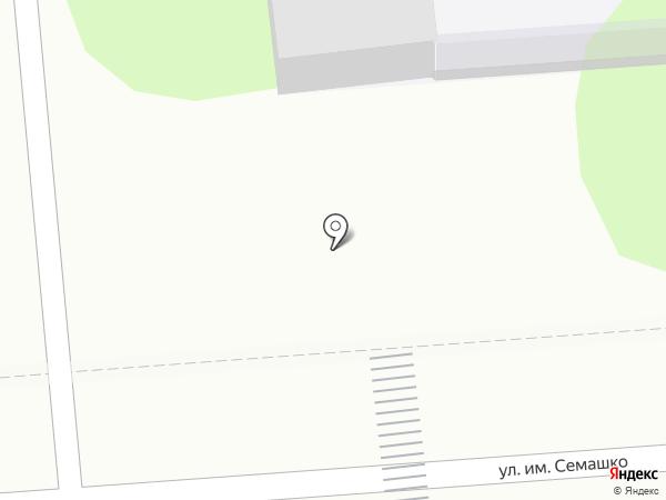 Корзинка у дома на карте Липецка