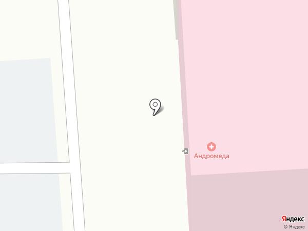Андромеда на карте Липецка